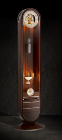 'Riva' Limited Edition Longcase Clock With Integrated Tourbillon Mantel Clock
