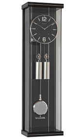 R1810 - Helmut Mayr Regulator Wall Clock - Black Dial