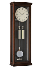 R1680 - Helmut Mayr Classic regulator Wall Clock - Walnut
