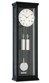 R1680 - Helmut Mayr Classic regulator Wall Clock - Black