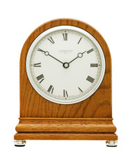 C4802RC - Comitti of London - Regency Oak Mantel Clock - Radio Controlled