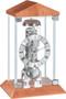 22786-320791 - Hermle Contemporary Mantel Clock Cherry Finish Case