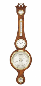 BC270.8 - Comitti - The Regency Barometer With Clock