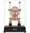 S5616RG - Comitti Rose Gold Navigator Clock With Black Lacquer Base