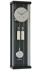 R1810SS - Helmut Mayr Regulator Wall Clock - Stainless Steel Dial