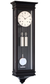 R1650-DB - Helmut Mayr Regulator Wall Clock - Dark Brown