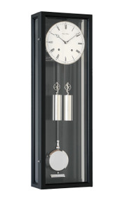 R1670 - Helmut Mayr Regulator Wall Clock - Black