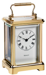 H102 - Henley Obis Carriage Clock - UK Made