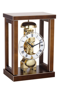 23056-030791 - Hermle Mantel Clock - Walnut Finish