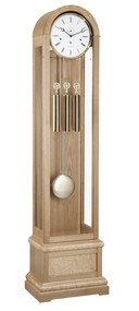 01087-050461 - Hermle Grandfather Clock - Oak