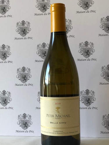 Peter Michael Winery Belle Cote Chardonnay Knights Valley 2016 - WA96