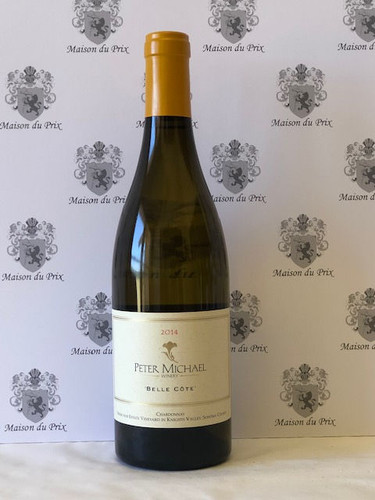 Peter Michael Winery Belle Cote Chardonnay Knights Valley 2014 - WA98