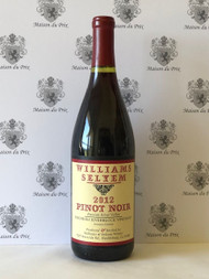 Williams Selyem  Rochioli Riverblock Pinot Noir Russian River 2012 - WE95
