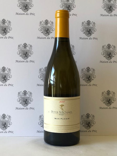 Peter Michael Winery Mon Plaisir Chardonnay Knights Valley 2010 - AG93