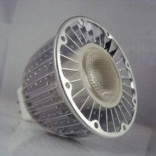 CREE MT-G2 MR16/GU5.3 LED bulb: Open face design permits cooling with convection air currents