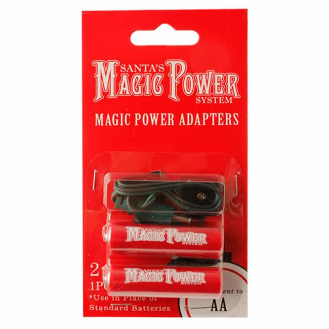 Magic Power 2-AA Adapters 3416164