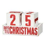 Countdown to Christmas Wooden Blocks 19430