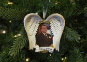 In Loving Memory Picture Frame Personalized Christmas Ornament PF955