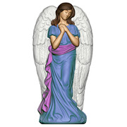 "31"" Angel with Wings Christmas Blow Mold Decoration"