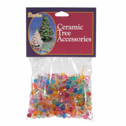 "250 Pack 1/4"" Multi Color Ceramic Tree Plastic Replacement Medium Globe Pins P0660"