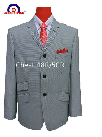 Only this jacket.houndstooth blazer jacket 48R