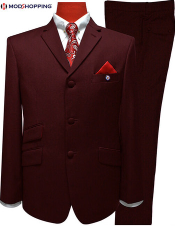 mod suits|mod fashion 60s mod clothing beery colour men suits slim fit