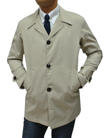 mac coat mens| vintage style light khaki cotton mac coat for men