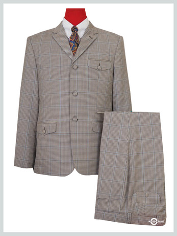 mod suit|goldhawk patch pocket 3 button vintage suit