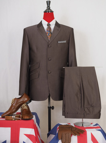 This suit only. classic brown tonic suit 40R jacket/34-32 Trouser