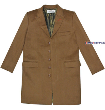 "This coat only. brown ladies long coat uk Bust 40""/UK-16"