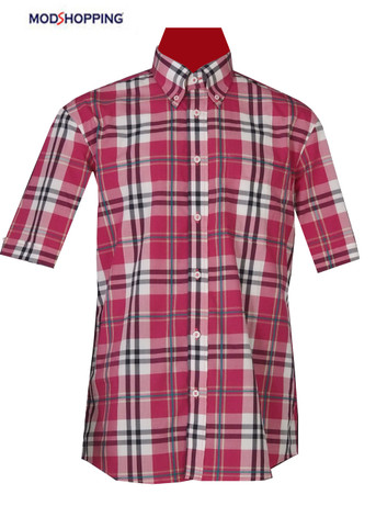 Slim Fit Multi Big check shirt