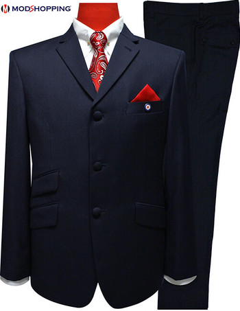 Only this suit| Navy blue Jacket 40 Regular , Trouser 32 - inside leg 29