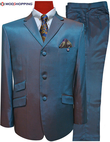 Only this suit| Green Two Tone Jacket 40 Regular , Trouser 32 - inside leg 30