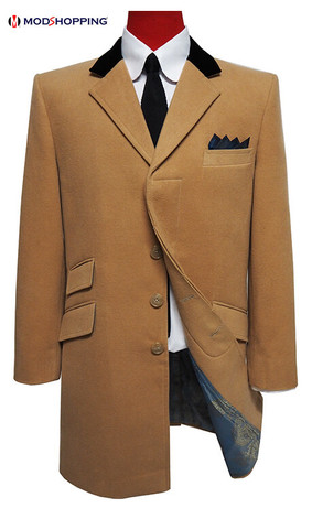This Coat Only|Wear the coat over suit, size 46 R