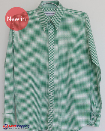 Green Gingham Shirt|Green Long Sleeve Gingham Shirt Uk