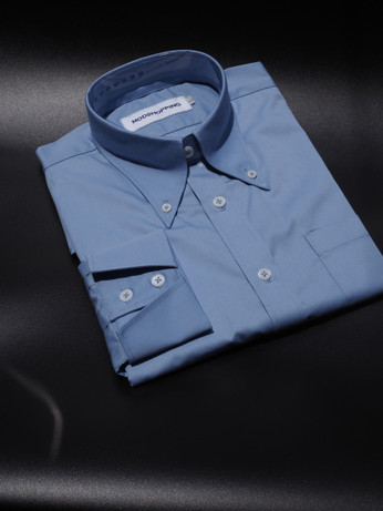 Button down  collar shirt |  sky blue color  shirt for men