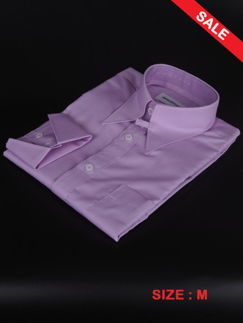 Lilac Tab Collar Mod Shirt For Sale