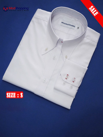 High Collar White Shirt| Formal Shirts Size S