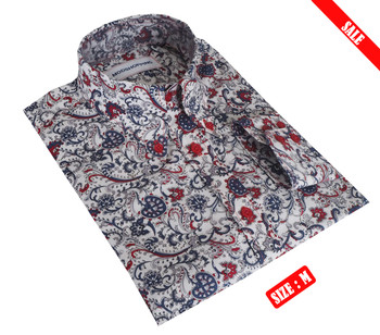 White Floral Shirt Sale