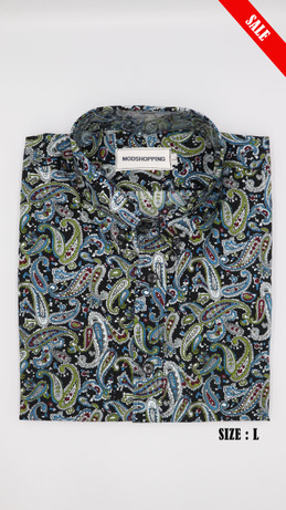 Multi color  paisley shirt long sleeve shirt