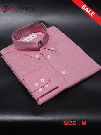 Herringbone Pink Color Shirt For sale