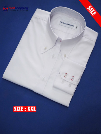 High Collar White Shirt| Formal Shirts Size XXL