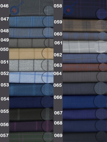 Bespoke Trouser For Man   Sample Exclusive Textile No 046-069