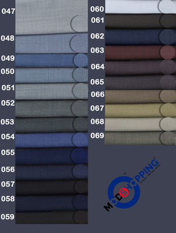 Bespoke Trouser Wool Mix For Man | Sample Exclusive Textile No 047-069
