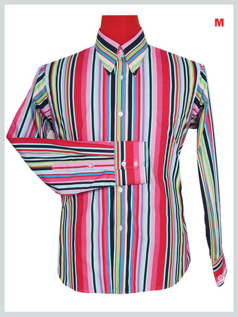 This Shirt Only. Candy Style Multi Color Shirt