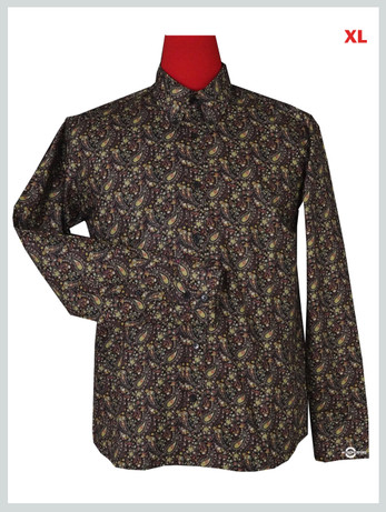 This Shirt Only Flower Pattern Shirt For Man