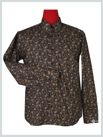 Paisley Shirt| Flower Pattern Shirt For Man