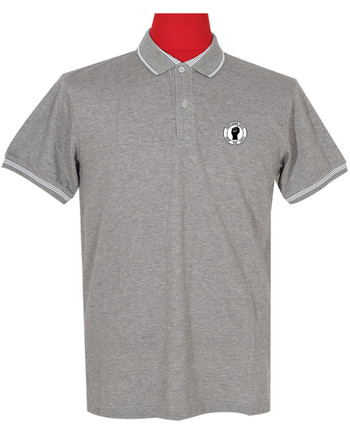 polo shirt Fabric Cool Plus colour grey northern soul polo shirt