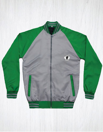 Northern Soul Monkey Jacket Colour Green & Grey
