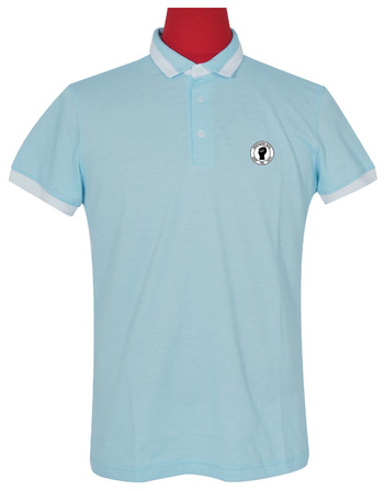 Polo shirt Fabric Cool Plus Short Sleeve  Northern Soul Blue Colour Polo Shirt.
